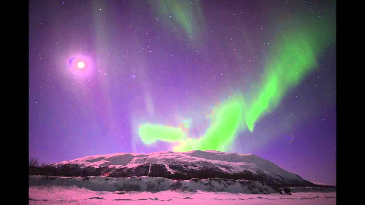 Swirling Auroras Over Swedish Mountains Seen For 2 Weeks   Video, via YouTube.