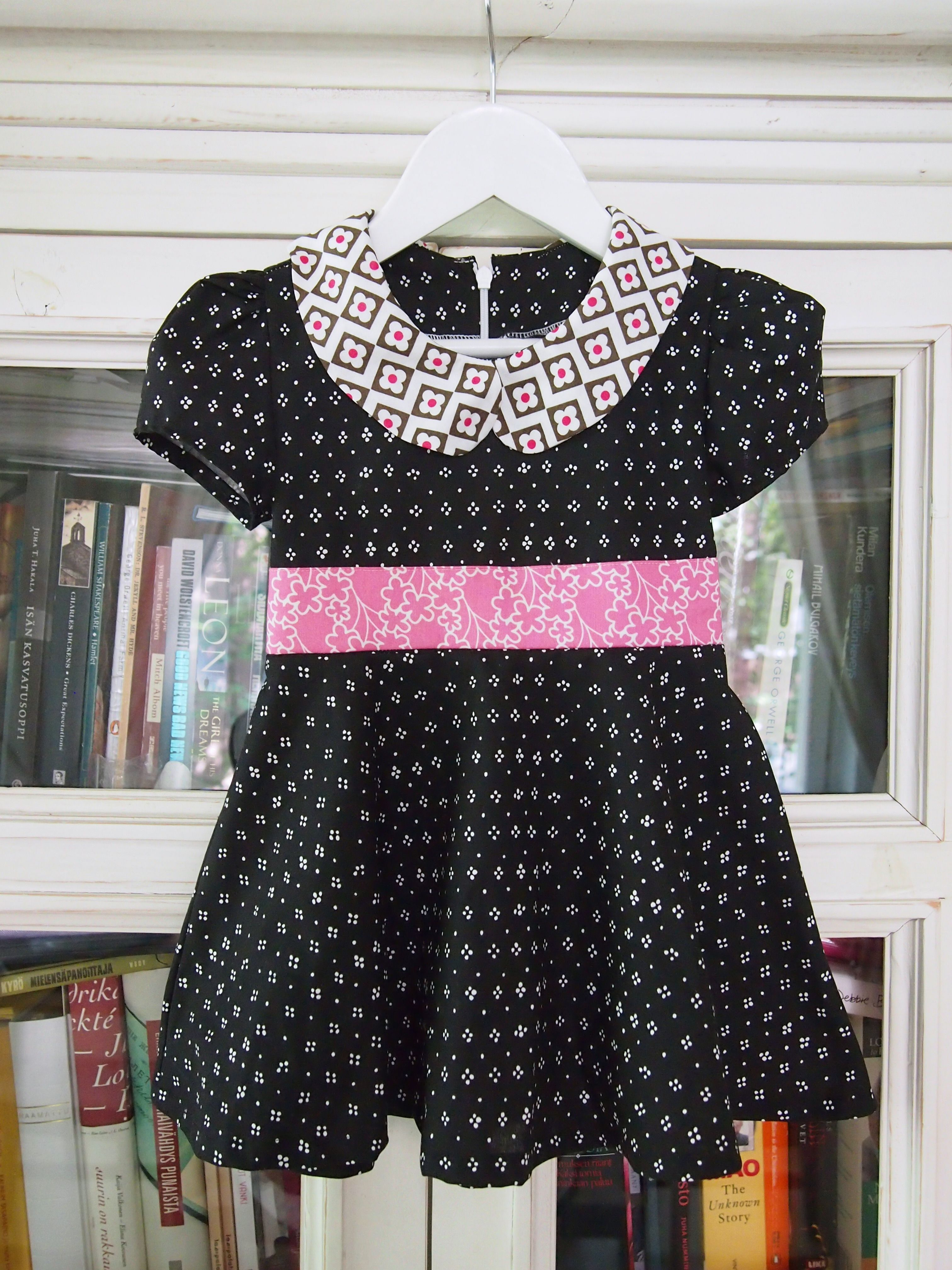 Dress from Muija-fabric. by Nona K.