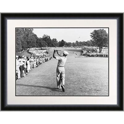 Ben Hogan with 1-Iron Framed Golf Print | Posters & Wall Art ...