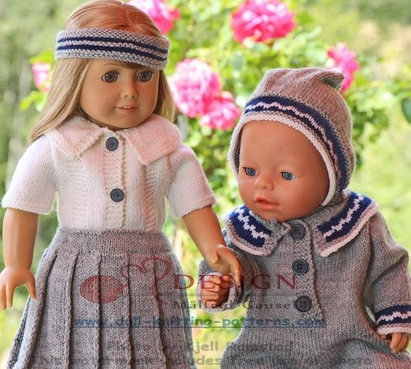 18 inch doll knitting patterns | crafts, pets and animals, | Pinterest