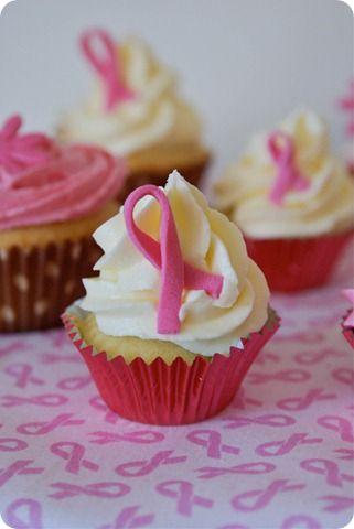 Katiesheadesign cupcakes just twist a strip of pink - Jolie cupcake ...