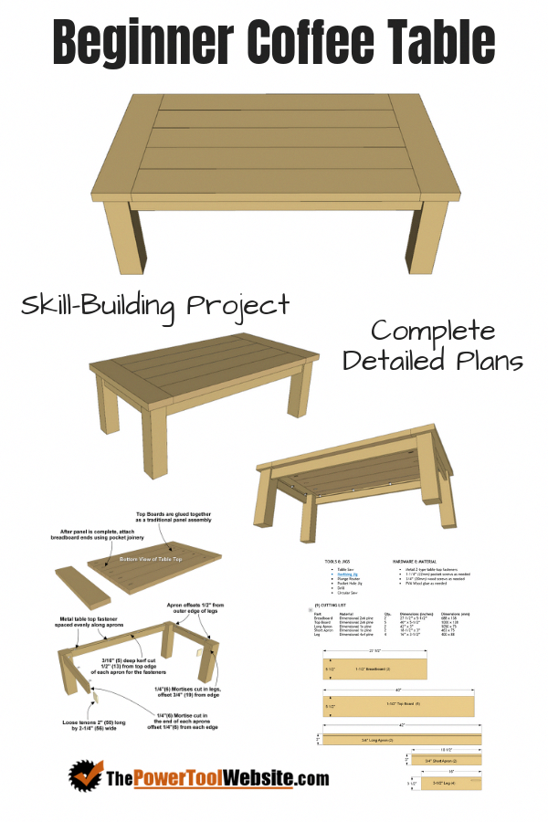 Free Woodworking Plans Build Your Skills With Beginner