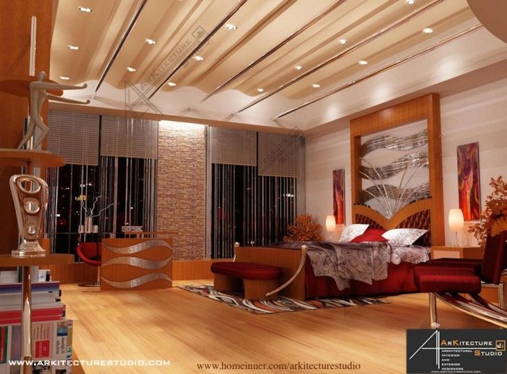 Kerala maniyara bedroom interior designs by arkitecture studio