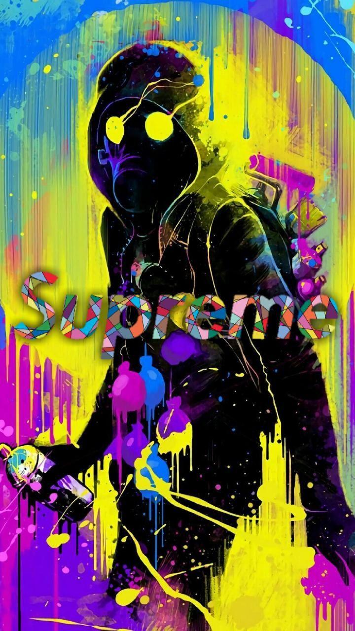 SUPREME STREET ART wallpaper by kolumbantibor92 - 89 - Free on ZEDGE™