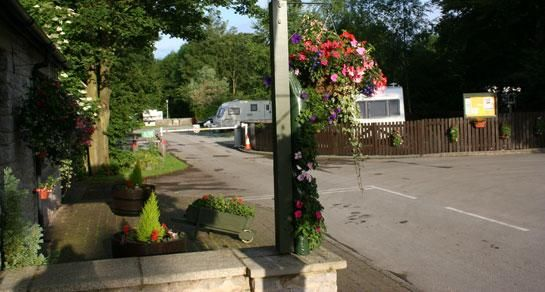 Castleton Caravan Club Reception, Peak District
