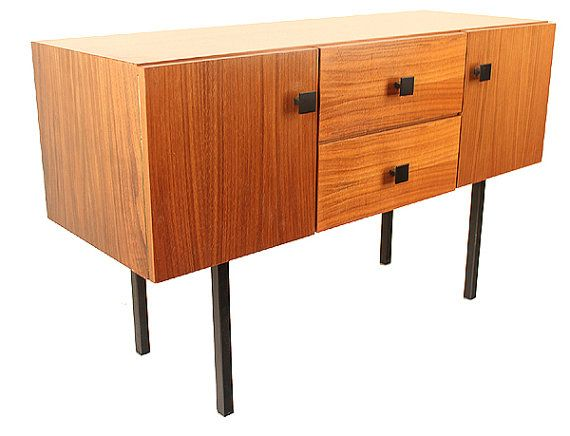 """Mid Sized Danish Chest Table Sideboard Mid Century by ANTICLOPEDIA, $650.00 Height: 57 cm / 22.5"""" Width: 92 cm / 36"""" Depth : 34 cm / 13.5"""""""