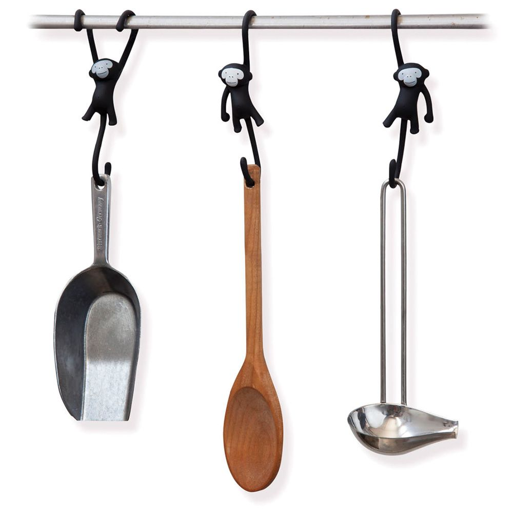 Just Hanging   Kitchen Hooks Designed By Luka Or   Kitchen Gadgets For Fun  Cooking