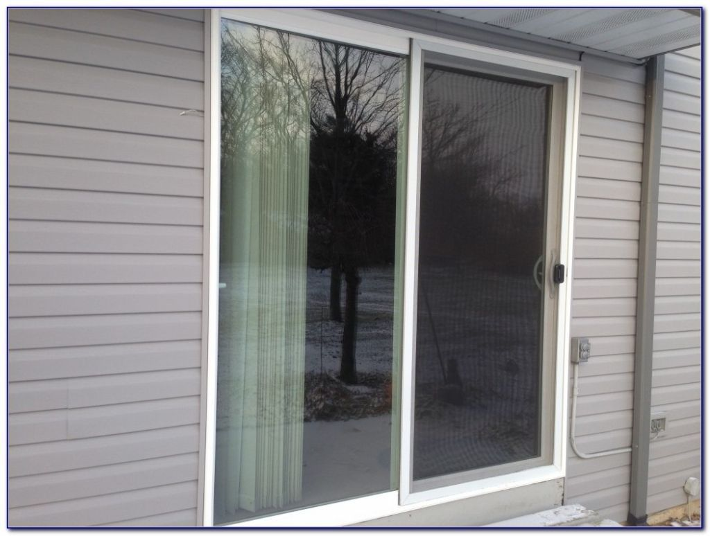 Nice Crestline Patio Doors With Blinds