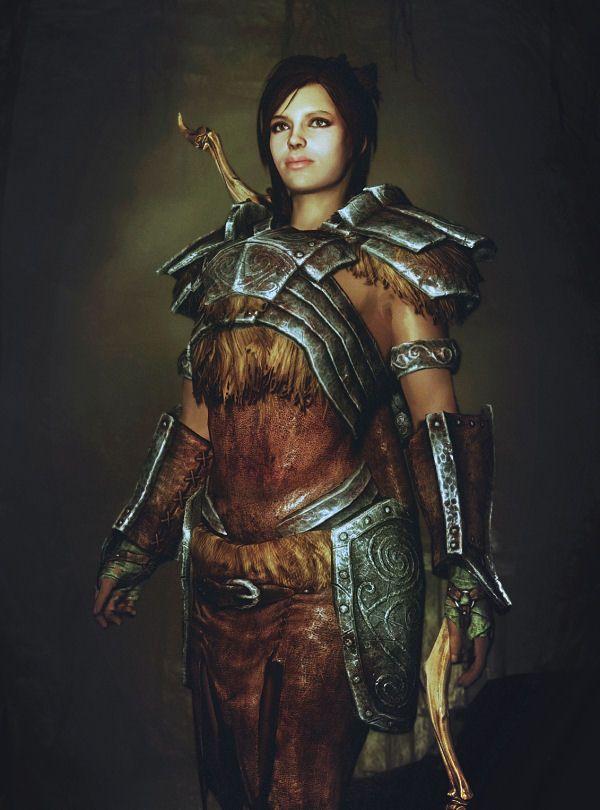 Skyrim Special Edition Revealing Armor Mod