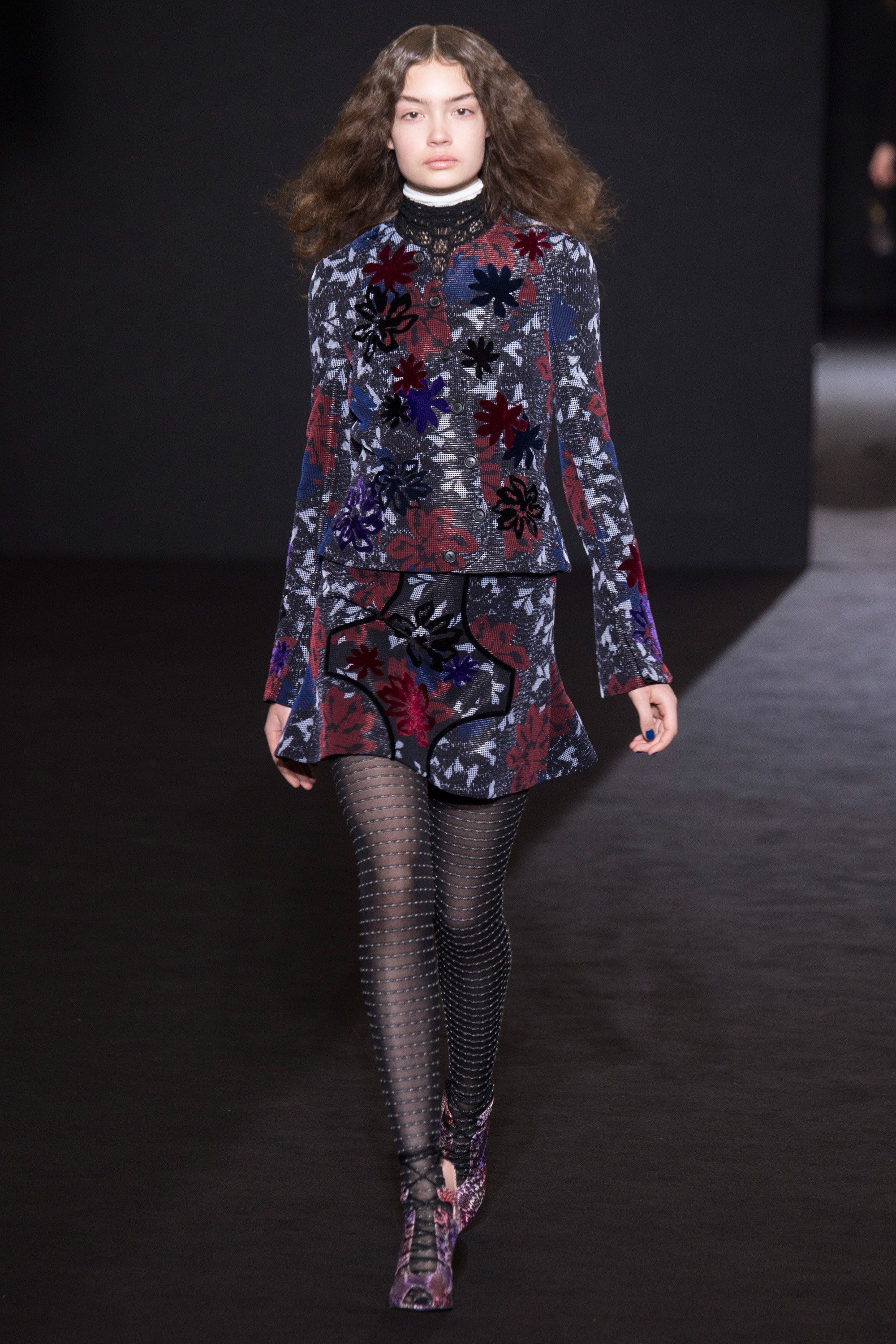 Mouret roland fall runway review