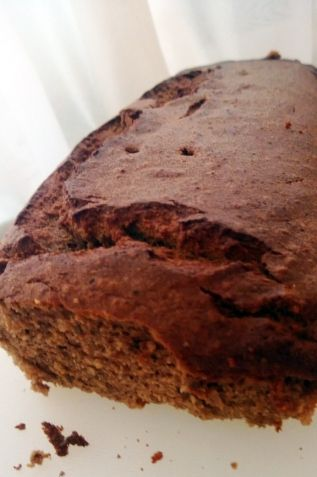 paleo banana chocolate bread