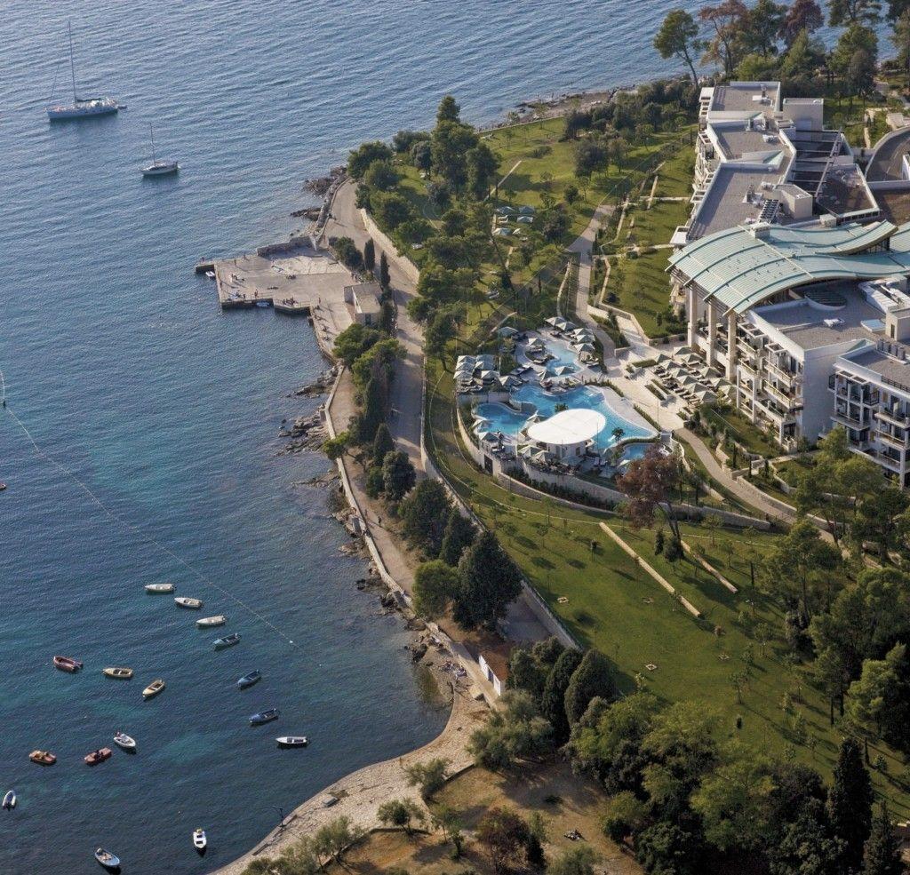 Hotel Monte Mulini Croatia Hotels Croatia Travel