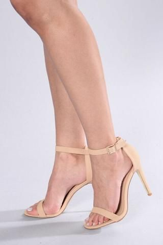 45927d811 Strapped Success Heel - Nude