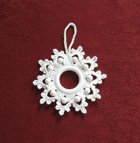 Photo of Curtains – Snowflake Ornament Crochet Star – a unique product by…