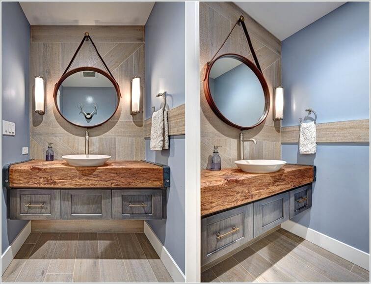 Nautical Bathroom Mirrors, Nautical Bathroom Vanity Mirrors