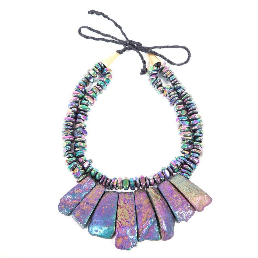 OMG Purple Necklace