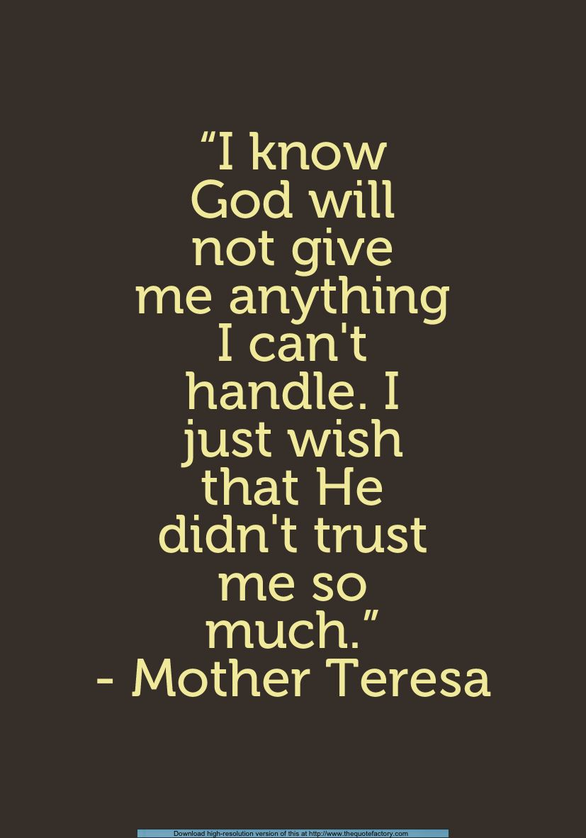 Mother Theresa Quotemight Have Pinned This Already Inspiration