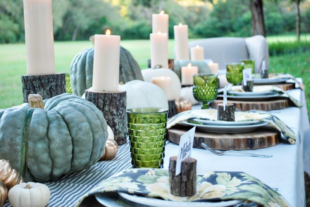 Enchanted Autumn Thanksgiving Table Settings Fall Dining Table Thanksgiving Centerpieces