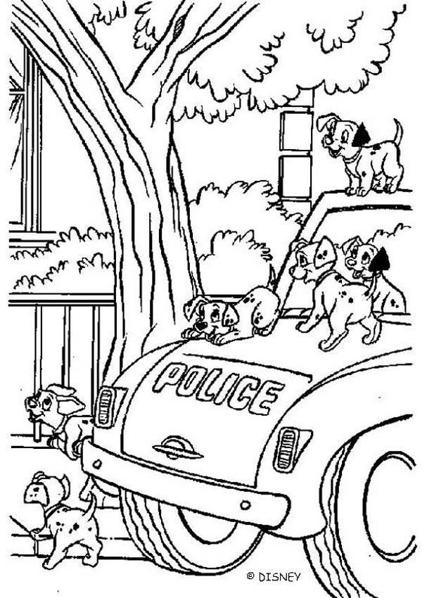 Color this adorable 101 dalmatians coloring page of this so cute ...