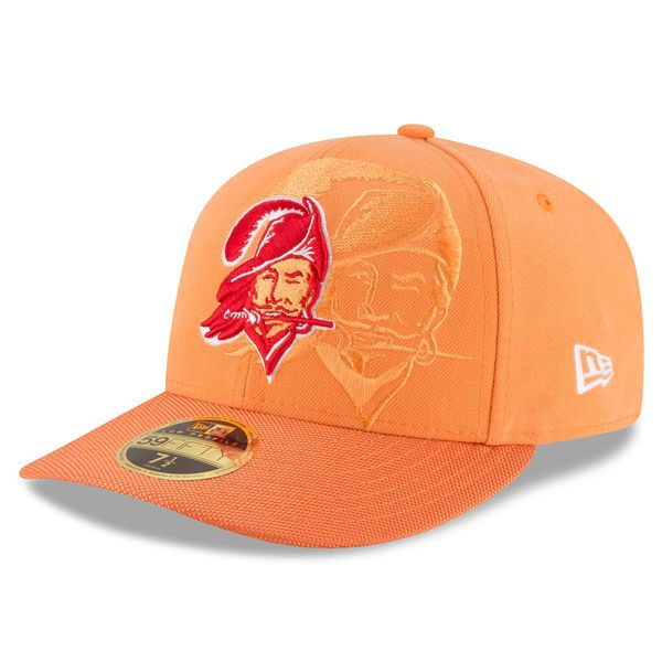 ... 50% off tampa bay buccaneers new era sideline classic low profile 59fifty  fitted hat orange real tampa bay buccaneers new era 2018 nfl sideline home  ... 7d95299dd