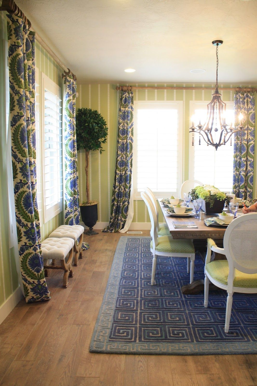 colorful dining (With images) Parade of homes, Home