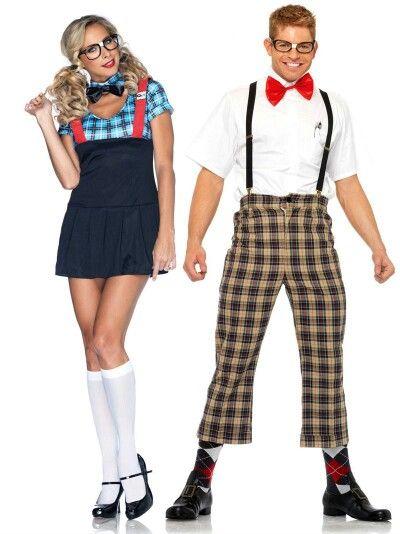 Nerd herd Nerd day at school Pinterest - halloween costume ideas couple