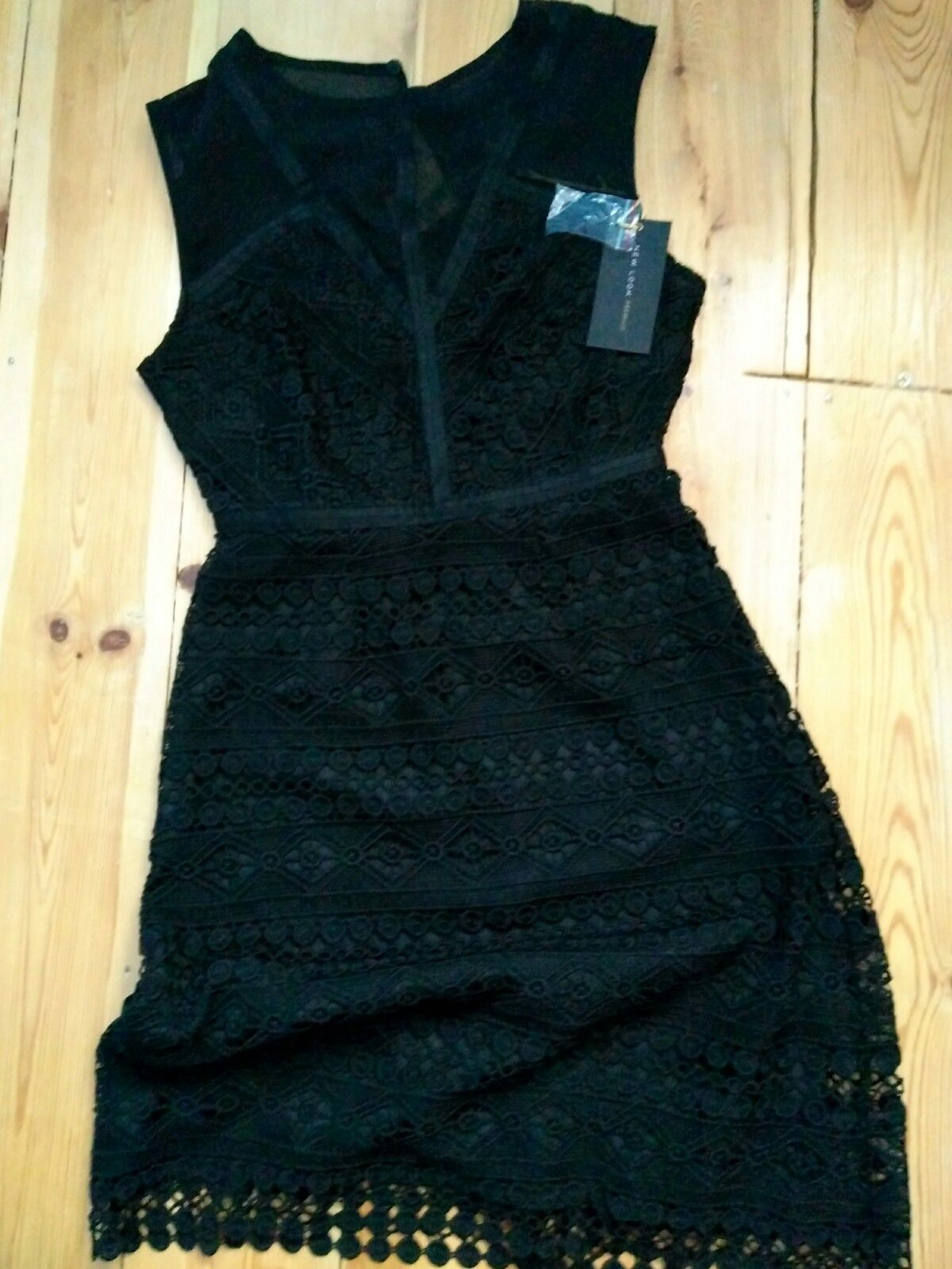Nice awesome new look black dress size perfect for party
