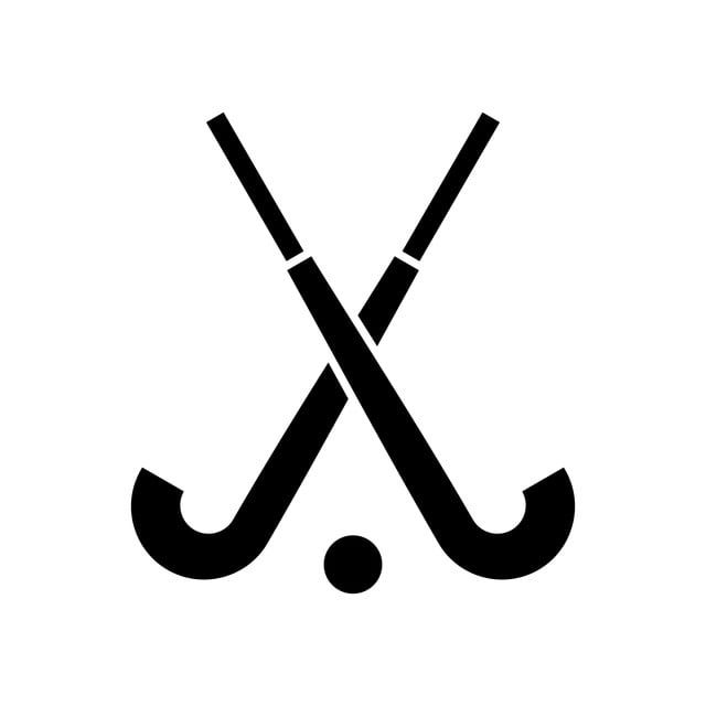 El Dibujo De Tu Proyecto De Hockey Gráfico Vectorial Y Imagen Png Palos De Hockey Iconos De Redes Sociales Arte De Discos De Vinilo