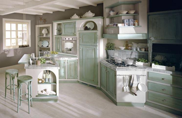 cucine-in-muratura-fai-da-te-bianca.jpg (590×436)   kuchnia ...