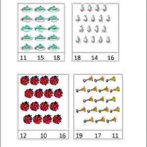 senior kg count and circle worksheets, maths worksheets for upper kg ...
