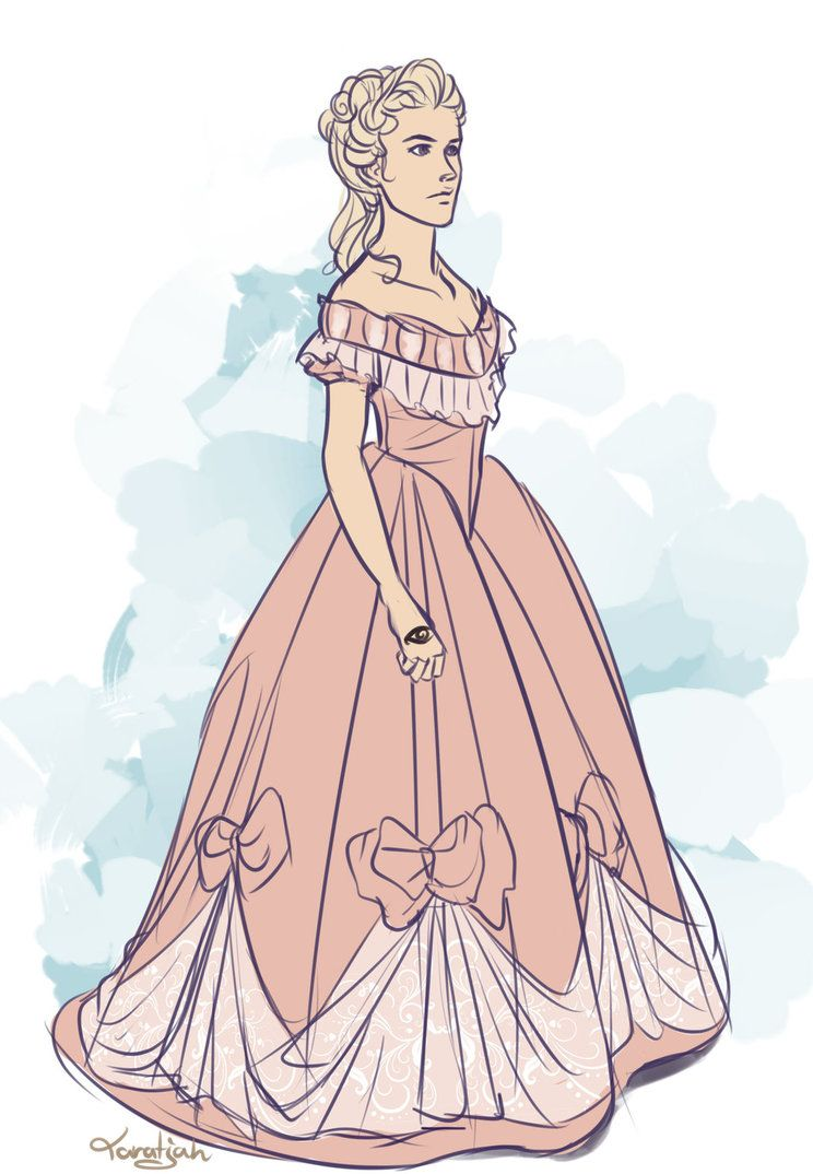 Jessamine Lovelace (dress 2) | Sketches | Pinterest | Cazadores de ...