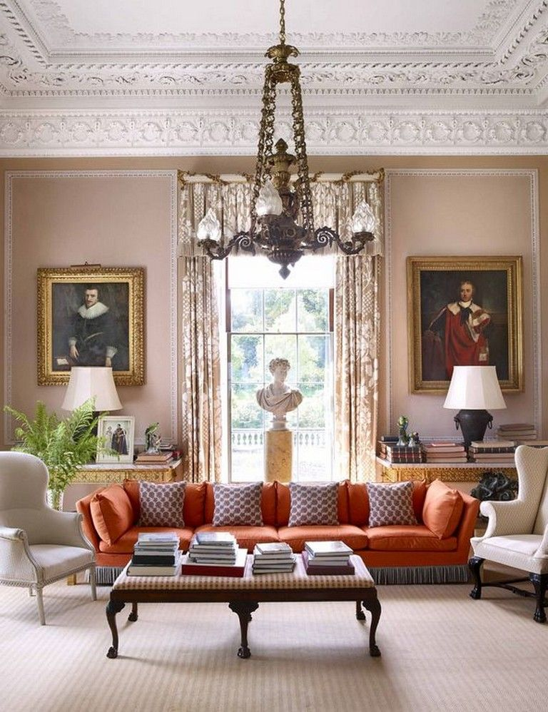 33 Cozy Traditional And Classic Living Room Decor Ideas Livingroom Livingroomideas Classic Living Room Decor Elegant Living Room Design Elegant Living Room