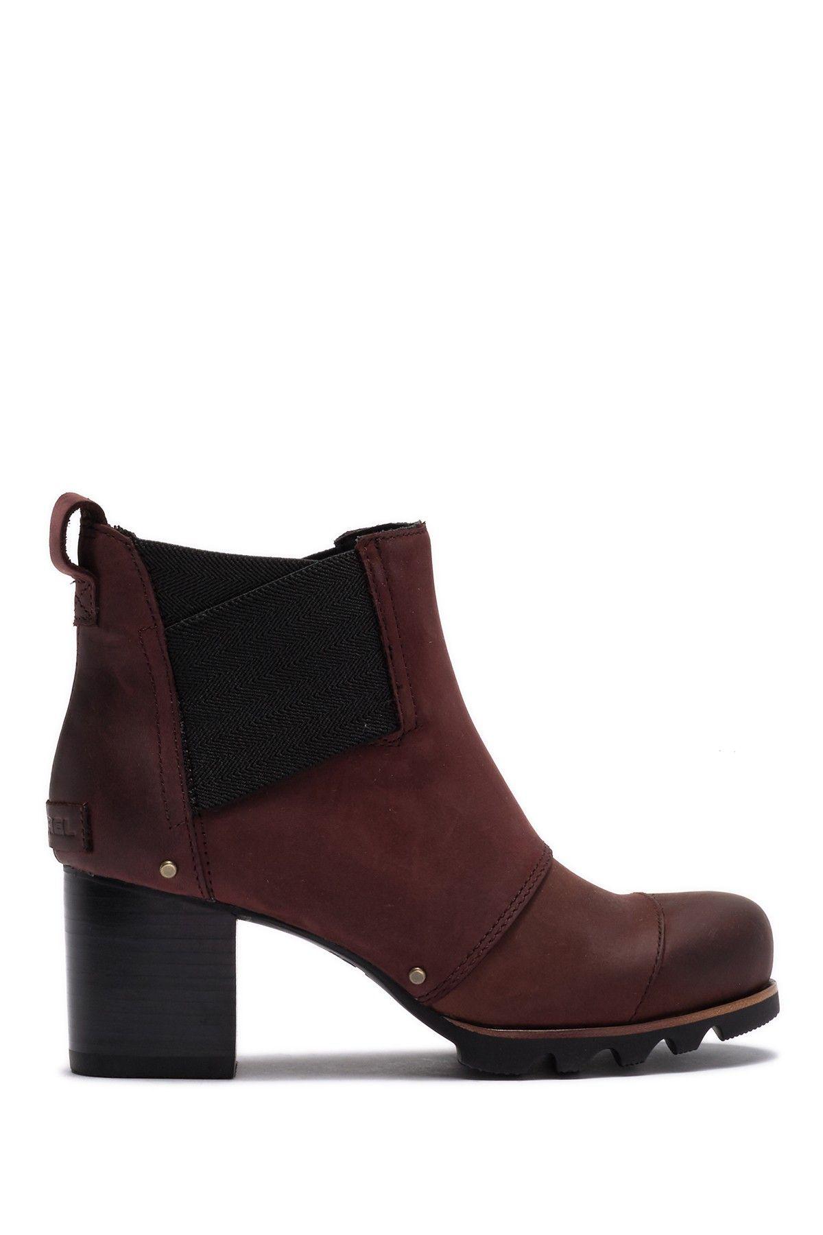e2fa5f755d0 Addington Waterproof Leather Chelsea Bootie by Sorel on  nordstrom rack