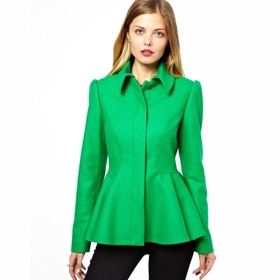 Images of Green Blazer Womens - Reikian
