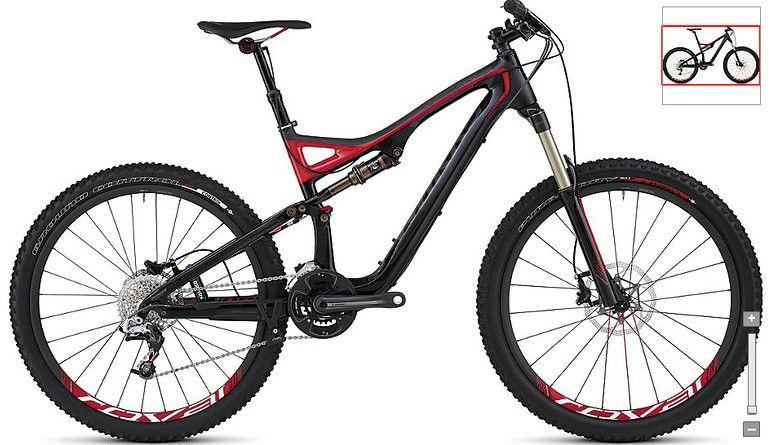 2012 Specialized Stumpjumper FSR SWorks Carbon Bike
