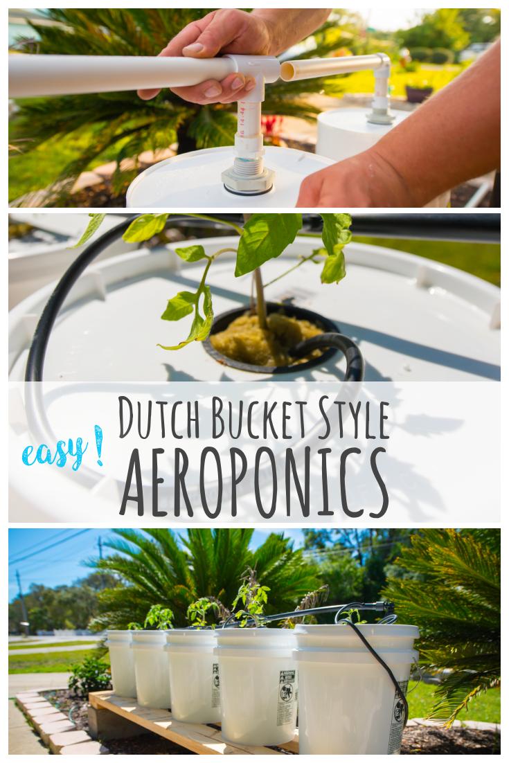diy dutch bucket aeroponics easy  [ 735 x 1102 Pixel ]