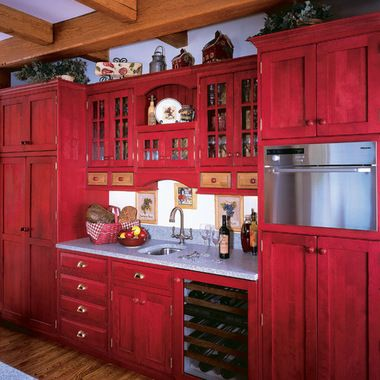 Remake red farm kitchen cabinets   Kitchen   Red kitchen ... on red bedroom ideas, red christmas ideas, red office ideas, red family room ideas, red farmhouse kitchen sink, red dining room ideas, red garden ideas,