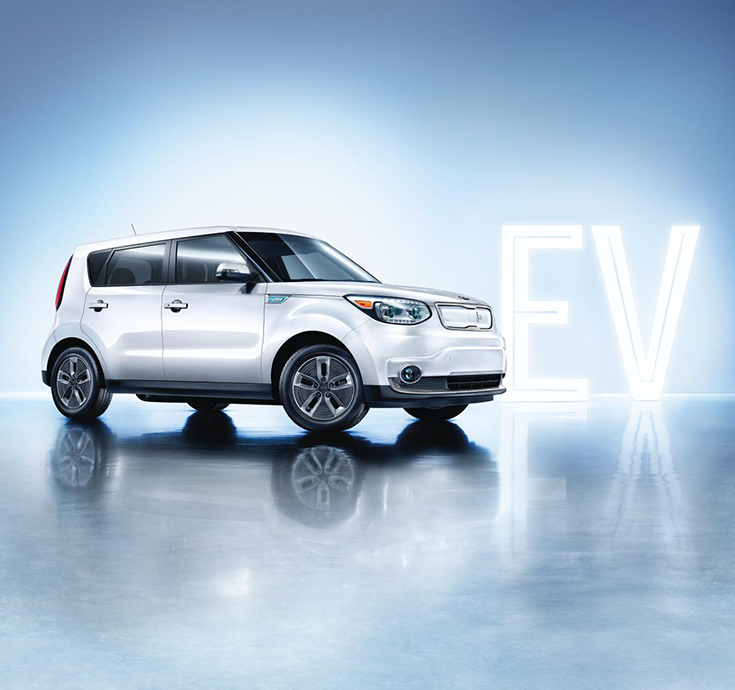 Sleek Sophisticated Electric Kiasoulev Kia Soul Kia Vehicles