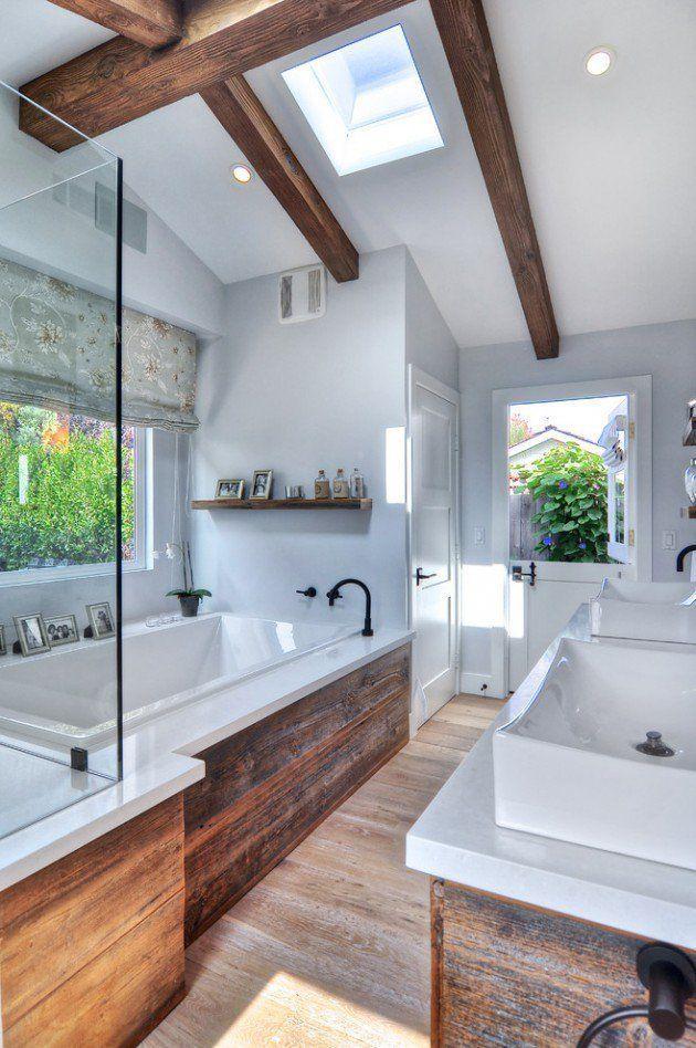 17 Beautiful Coastal Bathroom Designs Your Home Might Need Nice Houses Natural Bathroom