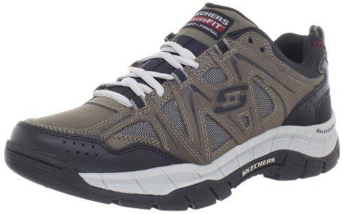 Skechers Sport Men S Relaxed Fit Memory Foam Rig Hiking Shoe