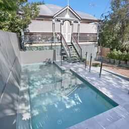 Semi Frameless Glass Fencing By Brisbane Based Installers Htm Homescapes Glass Pool Fencing Pool Builders Glass Pool