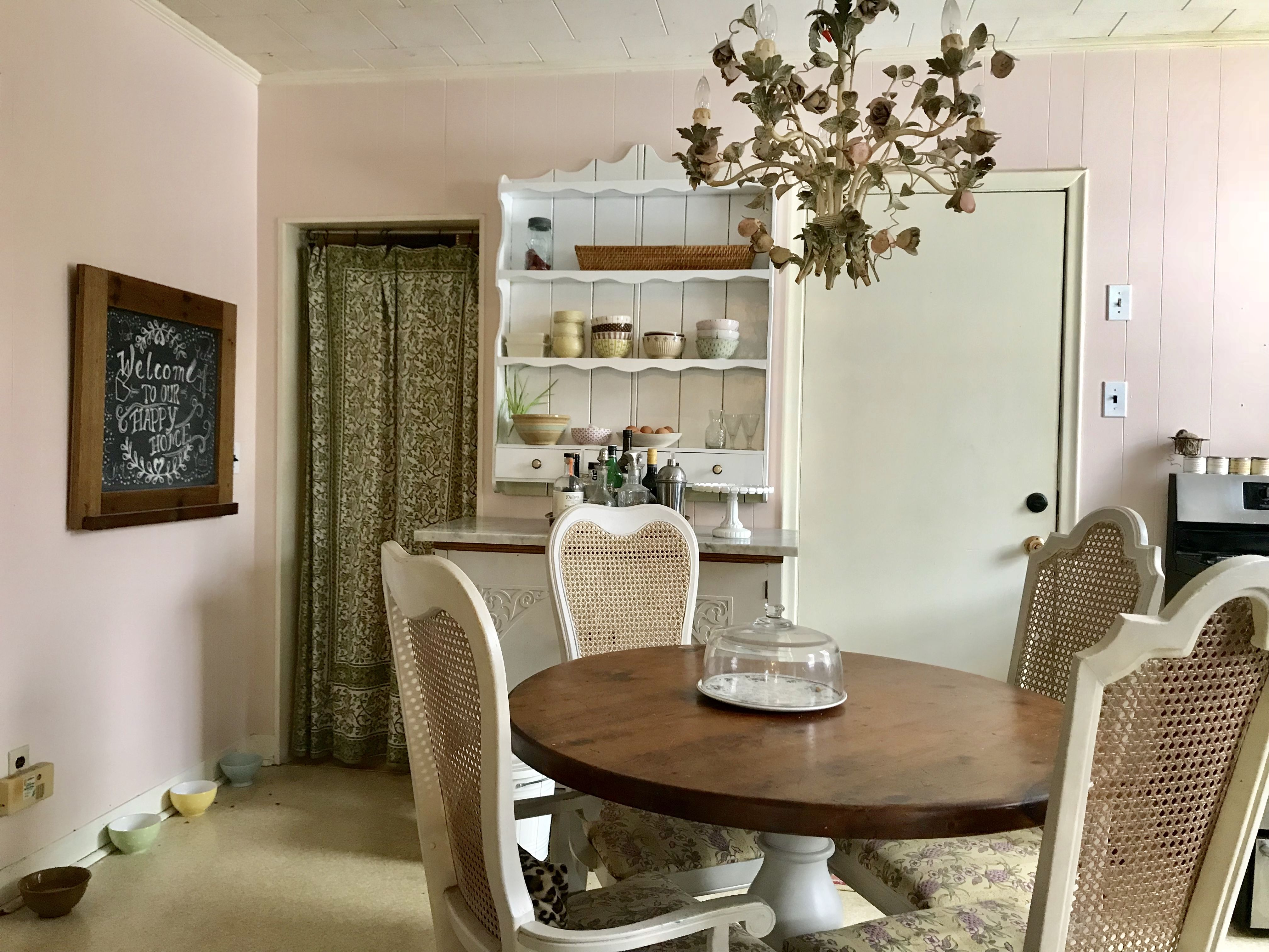 Best I Felt The World Needed Another Pink Kitchen Farrow And 400 x 300