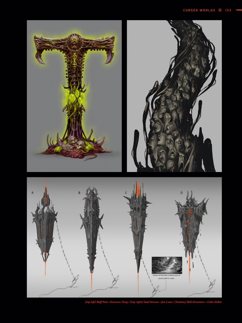 The Art Of Doom Eternal Tpb Part 2 Read The Art Of Doom Eternal Tpb Part 2 Comic Online In High Quality Art Dark Fantasy Demon Art