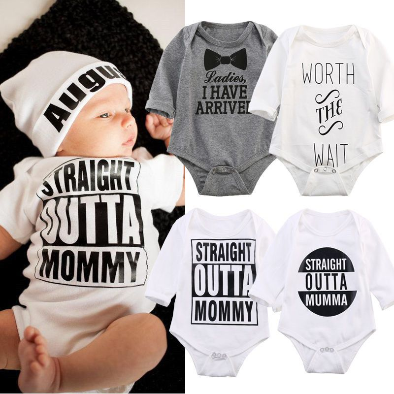 9dc770a4b NEW MUST HAVE! Funny Baby Romper Clothes Newborn Clothes Baby ...