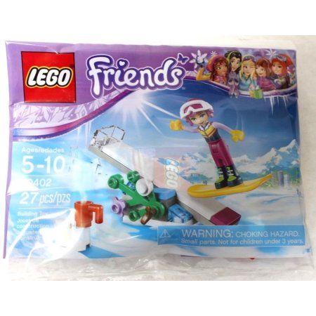 Polybag New! Lego Friends 30402 Snowboard Tricks