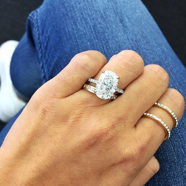 5ct Oval Amazing Jewelry Dream Ring Diamond Are A Girls Best Friend