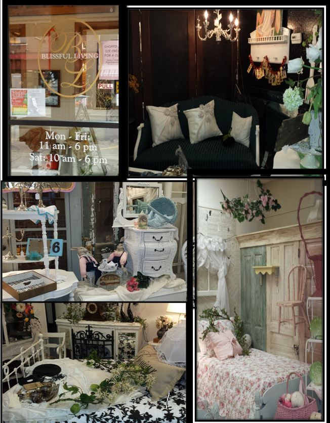 Blissfield Michigan  Blissful Living  This Is A Boutique Store With  Upcycled, Vintage,