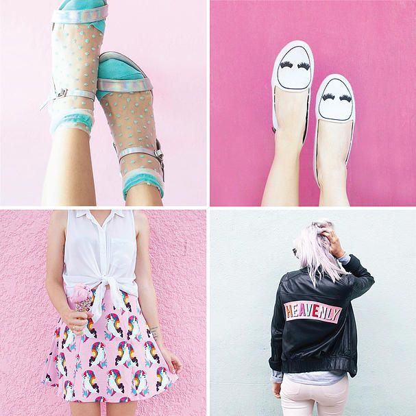 Fun Fashions Flamingos + Fringe Blog | InstaCrush: @RandomActsOfPastel