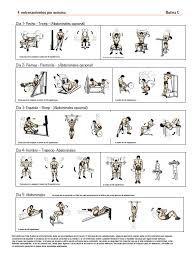 Rutina de ejercicio en gym para bajar de peso