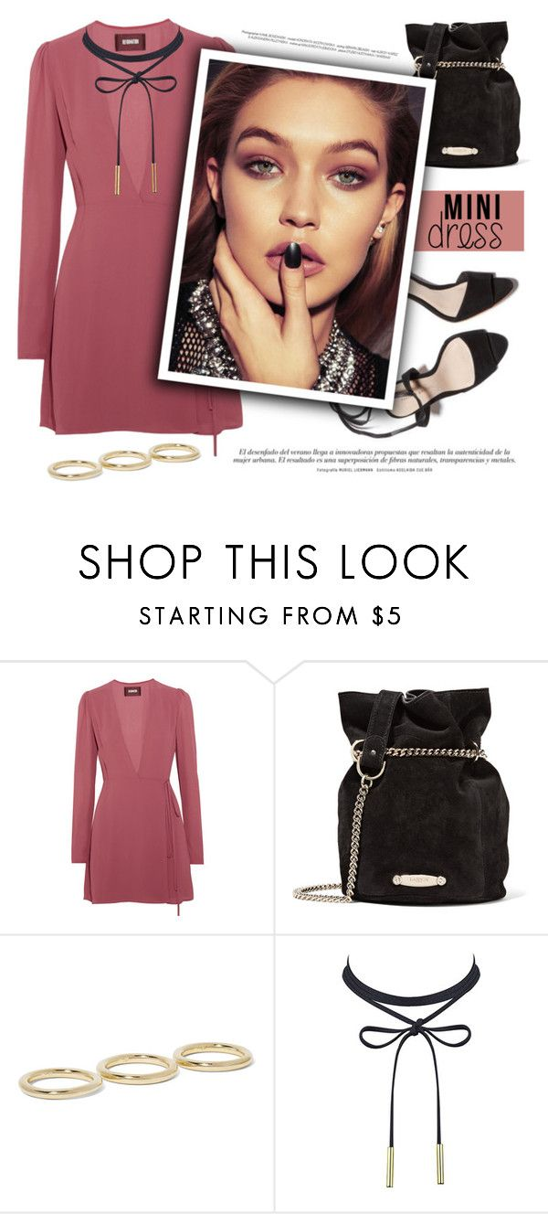 """""""Holiday Chic: Mini Dresses"""" by alinnas ❤ liked on Polyvore featuring Reformation, Lanvin, Jennifer Fisher, Hansen and minidresses"""